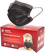 Face Mask Level 3 Made in Canada (Charcoal Black) Lightweight /50 Pieces