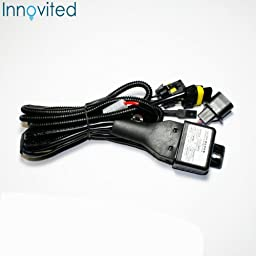 Innovited Premium AC Canbus HID Kit 100% Error Free No Flicker No Warning - H13-3 9008 - Purple Bi xenon HI/LO HID