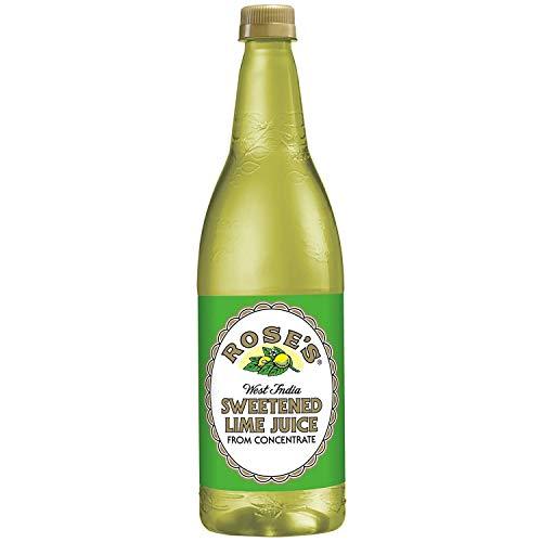 (Rose's Sweetened Lime Juice, 1 L bottles (33.8 fl. oz. 1 qt.1.8 fl. oz.) (4 pack))