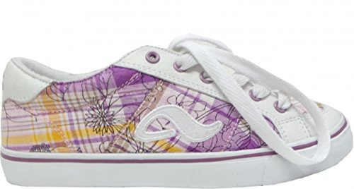 Adio Skateboard Schuhe Keds Girls White/Purple/Caro