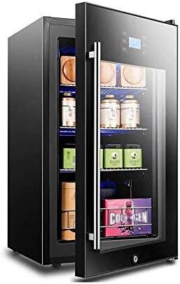 LKNJLL Bebidas refrigerador y Cooler - Mini Nevera con la Puerta de Cristal de Soda Cerveza o Vino - Pequeño Bebida dispensador de la máquina for la Oficina o en la Barra