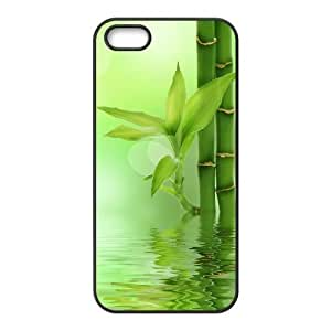 Cool Painting Bamboo Personalized Cover Case for Iphone 5,5S,customized phone case case-334789