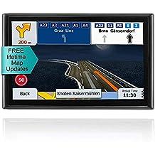 [Patrocinado] GPS Navigation System, LONGRUF 7-inch 8GB Satellite Navigator, Pre-Installed The Latest US 2019 map Lifetime Free Update