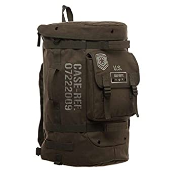 Amazon.com: Call Of Duty WW2 Military Convertible Duffle Bag Backpack:  Clothing