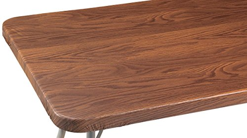 Grain Vinyl Elasticized Banquet Table