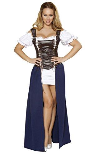 Sexy Deluxe Pilsner Girl Halloween Costume