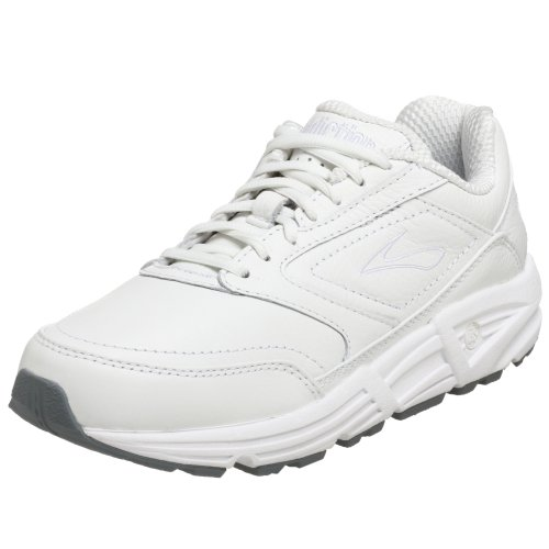 Brooks Women's Addiction, White, 9.5 D - Wide