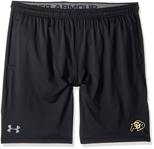 Under Armour NCAA Colorado Buffaloes Men's's Raid Shorts, Large, Black