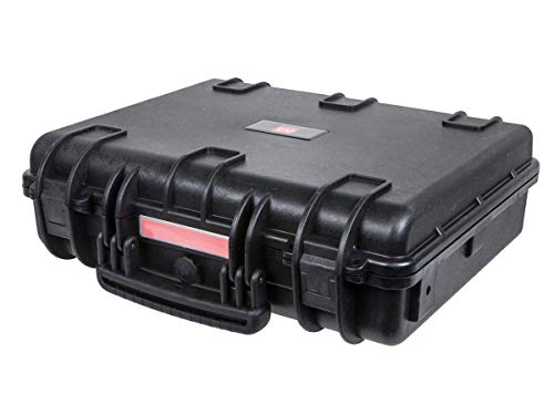 Monoprice Weatherproof/Shockproof Hard Case - Black IP67 Level dust and Water Protection up to 1 Meter Depth with Customizable Foam, 19