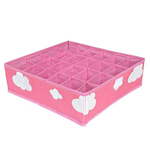 3-in-1 Foldable Storage Box (Pink) - 9