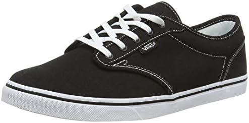Vans Atwood Low Canvas Womens Shoes, Color: Black, Size: 38 EU ...