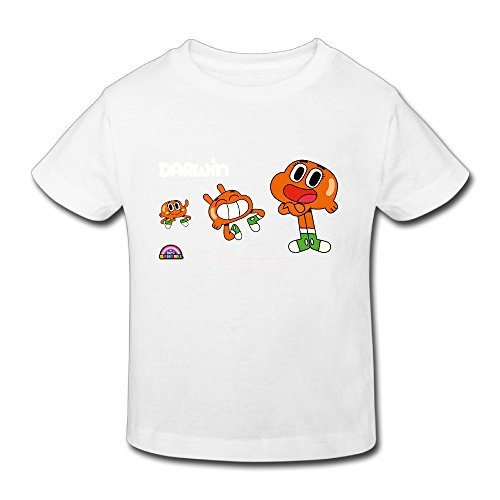 Toddler 100% Cotton The Amazing World Of GumballVintage T-Shirt