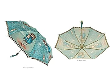 Paraguas Plegable Automatico Hush Little Bunny Santoro Gorjuss