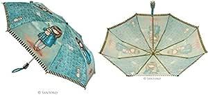 Paraguas Plegable Automatico Hush Little Bunny Santoro
