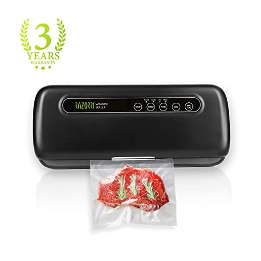 RAZORRI E5200-M Vacuum Sealer Machine Automatic Vacuum Sealing