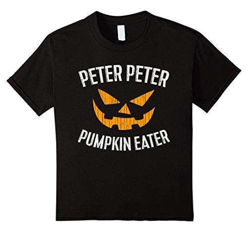 Kids Peter Peter Pumpkin Eater T-Shirt Halloween Costume Shirt 10 (Top 10 Couple Halloween Costumes 2017)