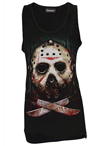Darkside Clothing - Camiseta sin mangas - Sin mangas - para mujer