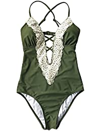 Fashion Women's Ladies Vintage Lace Bikini Sets Beach Swimwear Bathing Suit