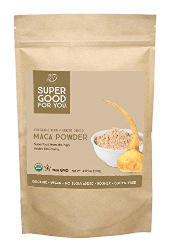 Bon pour vous les aliments organiques Maca Poudre