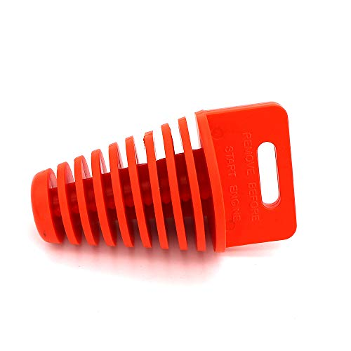 Wash Waterproof Plug For Motorcycle Pit Dirt Bike ATV Quad Go Kart Buggy Gas Scooter Lawnmower Harley Bikes Washable Thermostable (Orange, 1.25