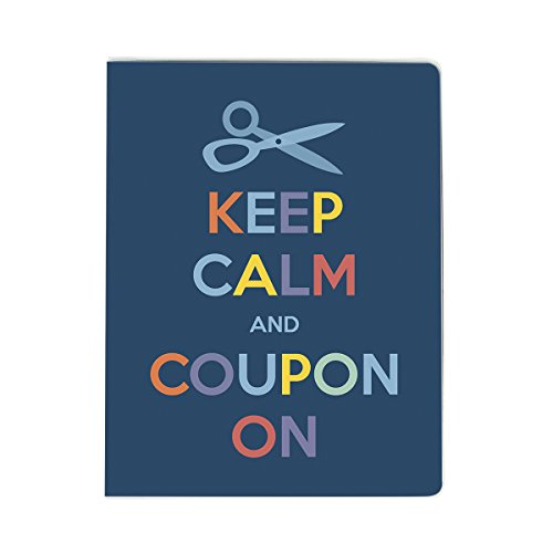 Ultra Pro - Large Coupon Organizer Portfolio - Keep Calm ()