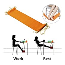 StillCool Adjustable Mini Foot Rest Stand (Orange)