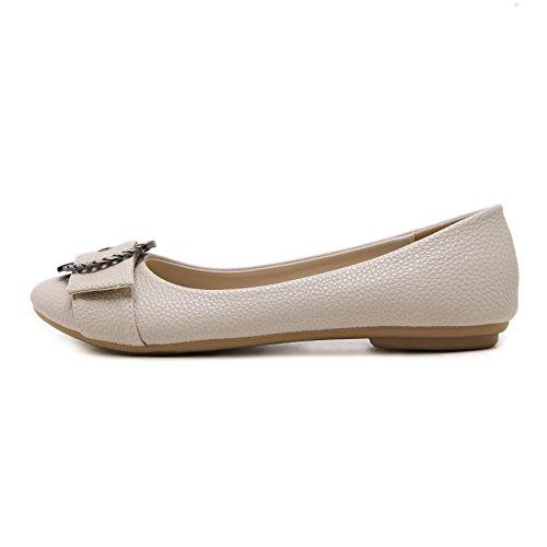 Pictures of Meeshine Women's Ballet Flats Comfort Slip 2