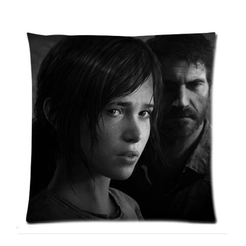 [Pandora Star The Last Of Us Ellie and Joel Custom Zippered Pillow Case Cover 18x18 (one side print)] (Bbc Costume Drama Movies)