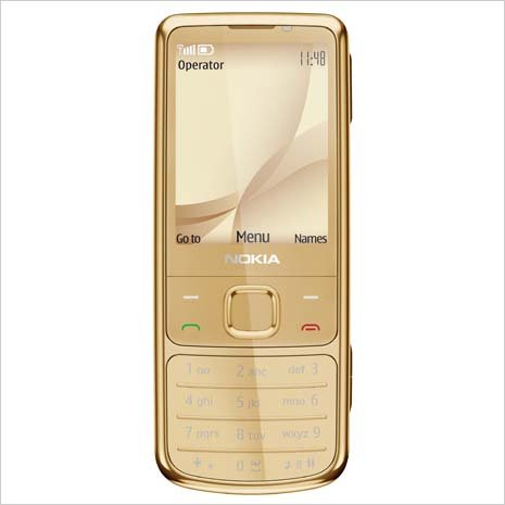 Unlocked Nokia 6700c Original Genuine Classic Bar Metal Mobile phone (Yellow)