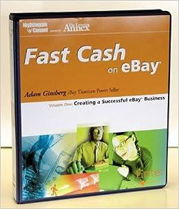 Fast Cash On Ebay Creating A Successful Ebay Business V 1 Nightingale Conant 9781905953257 Amazon Com Books