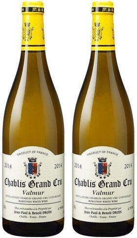 [2本セット] シャブリ グラン クリュ ヴァルミュール(Chablis Grand Cru Valmur) 2014 白 フランス 750ml×2本 B06XWRBS8R