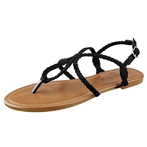 sandalup-womens-braided-strap-thong-flat-sandals-black-10