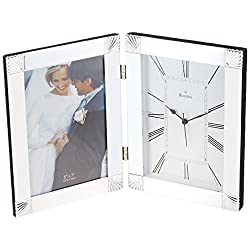 Bulova Ceremonial Picture Frame Clock