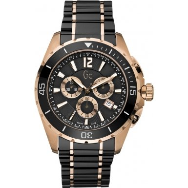 GUESS Gc Sport Class XXL Ceramic Chronograph Mens Watch X76004G2S