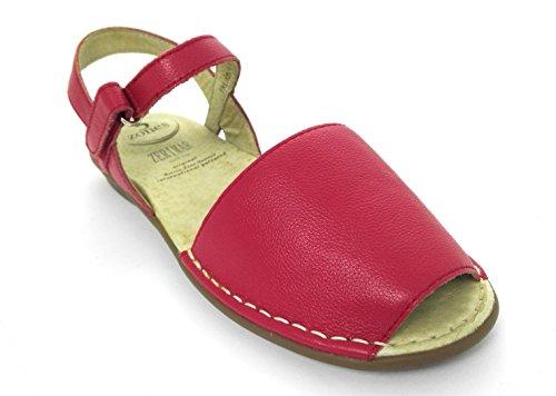 For Zerimar Kvinner Elegant Skinn Zerimar Leather Elegant Plattform Sandaler Platform Red Women Rød Sandals For 1qEHnxwg