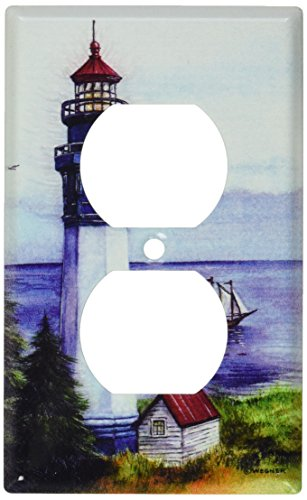 Art Plates - Lighthouse Switch Plate - Outlet Cover ()