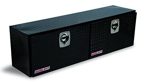 Guard Box - Weather Guard 364502 Black Aluminum Hi Side Truck Box