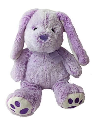 Hug Fun Plush Purple Lop Ear Bunny Rabbit 13 in Stuffed Animal Pal