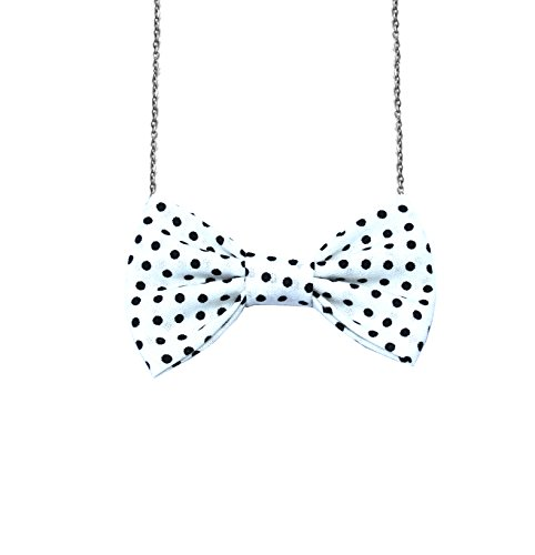 Freena Design Bow Tie Necklace Adjustable Chain 16-20 inches Handcrafted in USA #1 (3