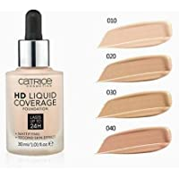 Catrice HD Liquid Coverage Foundation Vegan Natural 30 San Beige