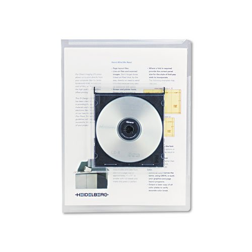 Universal Deluxe Locking Project File with CD-ROM Holder, 9