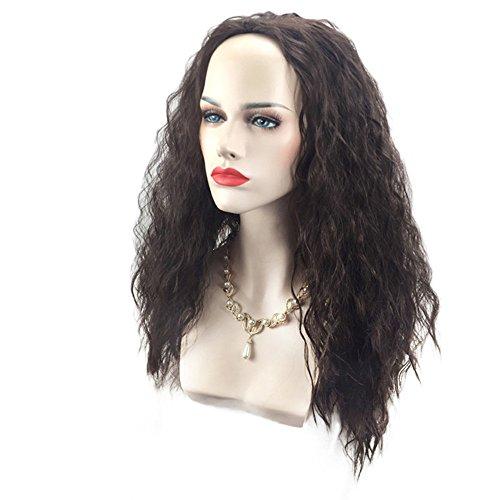Good Wigs Long Shaggy Water Wave Marine Romance Moana Cosplay Synthetic Wig - Long Tinsel Wig