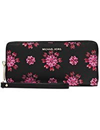 Jet Set Floral Travel Wallet