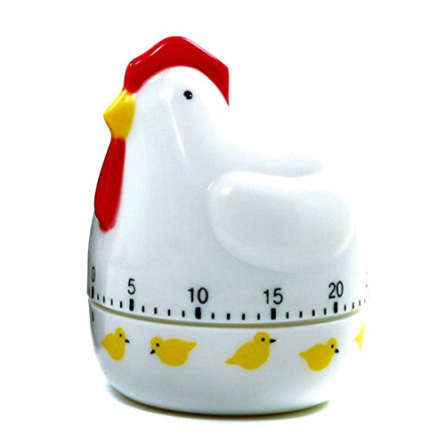 Norpro Egg Timer - Norpro Chicken 60 Minute Kitchen Egg Timer New 3.5