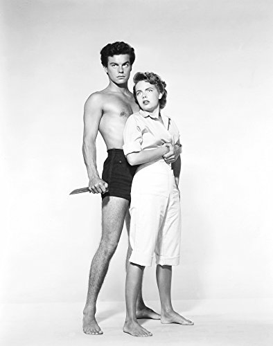 Beneath The 12-Mile Reef From Left: Robert Wagner Terry Moore 1953 Tm & Copyright ��� � 20Th Century Fox Film Corp./Courtesy Everett Collection Photo Print (16 x 20)