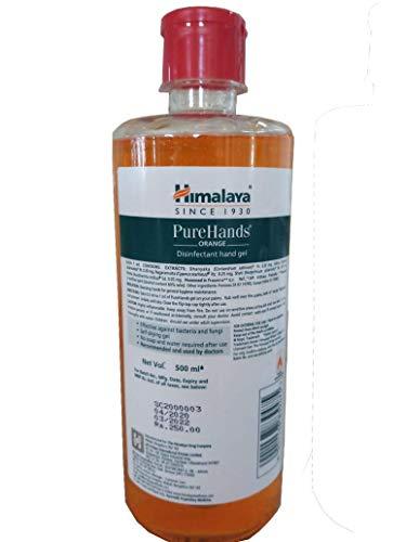 Himalaya Hand Sanitizers 500 ml Orange On Amazon