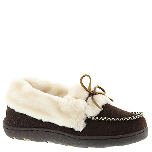 Tempur-pedic Mujeres Laurin Lace Up Mocasín Chocolate