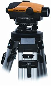CST/berger 55-PLVP26D PAL 26X Automatic Optical Level Package with Tripod, Rod, and Carrying Case