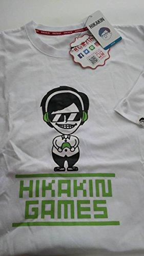 ヒカキン Tシャツ 4L 白 大きいサイズ HIKAKIN UUUM HIKAKIN GAMES You Tuber ユ―チューバ― ヒカキンゲームズ しまむら