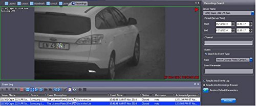 ANPRKIT1 - Samsung ANPR Number Plate Recognition 4CH NVR +